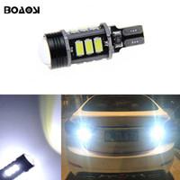 Wholesale Lamp Tucson - T15 W16W LED 5630SMD Chip backup reverse lights bulb lamp for Hyundai ix20 ix35 ix55 Matrix Santa FeII Tucson Veloster