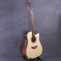 Wholesale Electric Guitar Rosewood - 41-31 NEW 41 inch 5 EQ Electric Acoustic Guitar Rosewood Fingerboard guitarra with pickups tuner strings