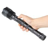 modo lanterna xml t6 venda por atacado-20000 Lumen 8x CREE XML T6 5 Modo Super Lanterna Tocha Lâmpada Luz para Outdoor / Camping / Caminhadas LEF_01B