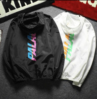 Wholesale Couple Skateboard - Summer New Palace Jacket streetwear Men Classic Triangle Windbreaker Skateboards Windproof suppremeat Jackets off white couple Jacket