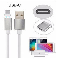 Wholesale Chinese Micro Pc - Cheap 2.4A Micro USB Magnetic Charging Metal PC Cable Charger for Android Cell Phone Type-C Micro USB Android or Iphone