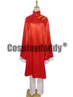 hitman cosplay kostümlerini yeniden doğurdu toptan satış-Katekyo Hitman Reborn Fon Cosplay Kostüm H008
