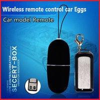 Wholesale Car Sex - Erotic Toys Women Wireless Vibrating Jump Egg 20 Speeds car key Remote Control Vibrator Bullet Sex Adult Sex Toys Adult Products