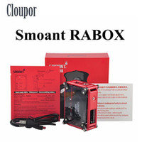 100% Original Cloupor Smoant RABOX Mod Built-in 3300mah Battery Mod. Mecânica DHL Free