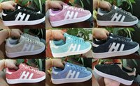 Wholesale Men Campus Shoes - 2017 New arrival Men Women originals CAMPUS W Trainer Chukka white Red pink green Lightweight Breathable Walking Hiking Shoes 36-45