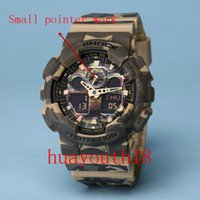 Wholesale Men S Watch Water Resistant - 2017 top AAA new men ga100 Sports led Watches LED Digital 110 Wristwatch Waterproof S Shock Watch 50m All function Work with Original Box