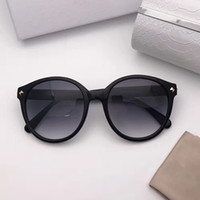 Wholesale Protection Chip - MORES Sunglasses Fashion Luxury Brand Designer Shiny Chip Plate Charm Frame Top Quality UV Protection Lens Mirror Come With Brand Box