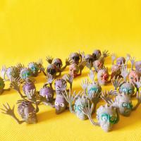 ingrosso fate in vendita in miniatura-vendita ~ 30 pezzi Halloween diavolo / demone / set dito / miniature / fairy garden gnome / terrarium decor / artigianato / bonsai / fai da te forniture / figurine