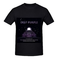 orchestra concerts - Men T Shirt Cotton Deep Purple In Concert With The London Symphony Orchestra Hits Men Design Shirt