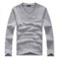 Wholesale Korean Sweater Slim Fit Black - Wholesale- Free shipping 2015 hot selling fashion Korean style men's Long sleeve sweater slim fit men's tops knitwear 7 colors size L-XXL