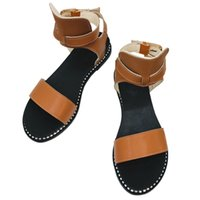 New Style Cheap Womens Flats Saltos Sandals Venda on-line Moda Ladies Popular Shoe Purchase Comprar desconto Feminino Feminino Strap Outlet Shoe