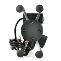 ingrosso manubrio usb-Nuovo caricatore universale per GPS cellulare + caricatore USB per cellulare 3.5-6.5