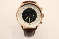 Wholesale Calibre Digital - LUXURY NEW IN BOX AAA QUALITY AUTO CALIBRE 17RS BLACK PVD DLC MEN'S AUTOMATIC MECHANICAL DATE WATCH LEATHER CORDAGE MENS MOVEMENT WRISTWATCH