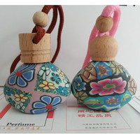 Spice spice cars - ml soft pottery shaped perfume bottle recommended car pendant bottle loaded with perfume car bottle fragrance