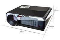 Wholesale Full Hd 3d Projector Price - Wholesale- Lowest price Brightest 5500Lumen 1080p Full HD Smart Android 4.4 WiFi Digital LCD Led 3d Video Beamer Projector Proyector