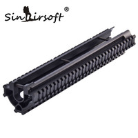 Wholesale Wholesale Handguard - SINAIRSOFT One-Piece Design Tactical Tri-Rail Handguard Picatinny Weaver 12 inch rails For Airsoft UTG G3 Compatibles MNT-TG3TR