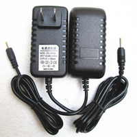 Wholesale tablet dock android online – V A Black Wall Charger Power Adapter mm US EU Plug Adapters for android Tablet PC