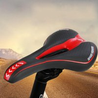 Wholesale red bike seat - YAFEE Colorful Bicycle Mountain Road MTB Cushion Seat Saddle Sports Bike MTB Saddle Front Seat Cushion Riding Cycling Supplies +B