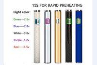 vape kalem pil otomatik toptan satış-S19 320 mAh Otomatik değişken voltaj regülasyonu hızlı ön ısıtma 510 Co2 yağı BUD CO2 Tankı vape kalem buharlaştırıcı X8 pil