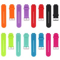 Wholesale Wholesale Golf Gps - Wholesale- 1pcs Silicone Replacement Watchband Wrist Watch Band Strap For Garmin Approach S2 S4 GPS Golf Watch Vivoactive with tools