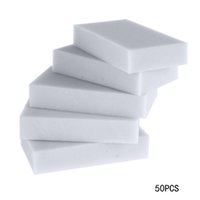 Wholesale 50pcs Multi functional Melamine Sponge Magic Sponge Eraser Melamine Cleaner Eco Friendly Grey Kitchen Magic Eraser cm