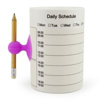 organized office - QINSI Funny Schedule Mug Organize Office Daily Plan Curriculum Memo Coffee Cup Ceramic Mugs Personalized Replace Notepad Writable Cups