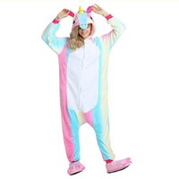 Wholesale Unisex Pikachu Onesie - Wholesale Animal Stitch Unicorn Panda Bear Koala Pikachu Onesie Adult Unisex Cosplay Costume Pajamas Sleepwear For Men Women