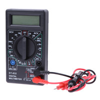Professionelle DT832 Mini Ein Digital Multimeter LCD DC AC Voltmeter Amperemeter Ohm Tester Digital Multimeter
