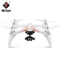 RC Quadcopter 5MP Drone WLtoys Q696-D.4G 6-Axis Gyro RC Quadcopter Barometro impostato altitudine RTR Drones One-key Return Night Fly + B