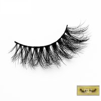 Wholesale fine c for sale - Group buy Fine Pair of D Mink False Eyelashes Handmade Natural EyelashesMmink Thick False Eyelashes Extension Beauty Make up Tools