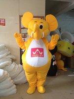 Wholesale Custom Crab Costume - Elephant crab cartoon dolls mascot costumes props costumes Halloween free shipping