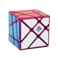 Wholesale Fisher Cube - Original Moyu Crazy Fisher Cube 3x3x3 Magic Cube Speed Puzzle Cubes Toys For Children Cubo Magico Special Gifts