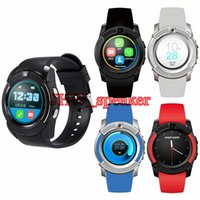 Wholesale mtk watch phone online – V8 Circular Smart Watch Hot Sale U8 DZ09 A1 GT08 Bluetooth Watches Android M Camera MTK Chip Smartwatch For Cell phone Micro Sim TF Card