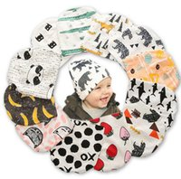 Wholesale Toddler Cartoon Caps - Brand Baby Cap Baby Winter Hat Cartoon Pattern Infant Hat Toddler Boys Girls Cap Knitted Soft Fashion Newborn Hat Beanies