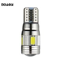 Wholesale 168 Auto Bulb Blue - High power Canbus T10 LED 5630 SMD Interior Bulb 194 168 W5W Parking Backup Fog Light Brake Lamps Auto No Error car light