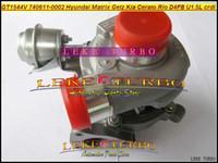 Wholesale Turbocharger For Hyundai - GT1544V 740611 740611-5001S 740611-5003S 740611-0001 28201-2A100 Turbo Turbocharger For HYUNDAI Matrix Getz Cerato Rio D4FA D4FB 1.5L 1.6L