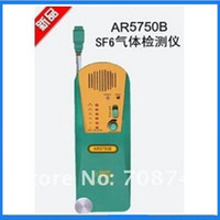 Wholesale Gas Leak Alarm Detector - Wholesale- SF6 Gas Detector Smart Sensor AR5750B, SF6, Refrigerant, Halogen Gas gas Leak Alarm Meter Tester