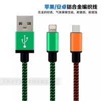 Wholesale Iphone Mike - 1 meter long Mike 2A current data cable for Samsung S4 S5 S6 S7 iphone i7plus millet Huawei Lenovo