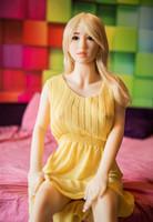 ingrosso donna gonfiabile reale-Bambola del sesso del silicone della bambola di gomma realistica della bambola di amore di Hotsale nuove bambole gonfiabili del sesso del silicone reale di 165 cm