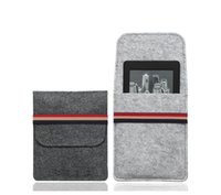 Wholesale Ebook Kindle Cover - Wholesale- For Amazon kindle paperwhite case cover Felt Sleeve for kindle touch,kindle 4, kindle 5,6inch ebook reader