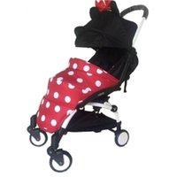 Wholesale Pram Sets - Wholesale- Baby footmuff Pram Foot Covers Stroller Accessories Infant Carriages Socks Pad Warm Windproof Boys Girls Feet Set Wheelchair