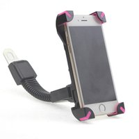 Wholesale Mobile Phone Mount Motorcycle - Motorcycle Electric Bike Cell Phone Mount Holder for 3.5~7.0inch smartphones GPS Compatible with iPhone Samsung Mobile Phones