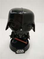 Wholesale Bobble Head Darth Vader - POPOToyFirm Funko POP 01# Q Version Star POPO Wars Darth Vader Bobble Head Vinyl PVC Action Figure