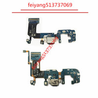 Wholesale original dock - Original Dock Connector Charger Board USB Charging Port Flex Cable For SAMSUNG Galaxy S8 S8 Plus S8+ G950f G955F