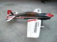 Wholesale Gas Rc Airplane Model - Wholesale- New Balsa Wood Large Sbach 342 30cc 3D Flying Gas RC Airplane Model ARF Flight Model 74.8""