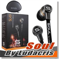 Wholesale Soul Sl49 Earphones - SOUL by Ludacris SL49 In-Ear earphone Sports headphone Wired earbuds For Apple iPhone and other Smart Phones Hifi Music Player