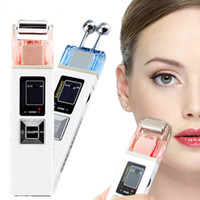 Wholesale beauty equipment galvanic - KD9000 Microcurrent Galvanic New Face Skin Spa Device Beauty Salon Equipment Skin Whitening Firming Remove Iontophoresis Skin Care