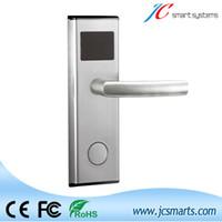 Wholesale Hotels Door Lock - Wholesale- Stainless steel hotel card lock system, hotel door lock swiping card to unlock door