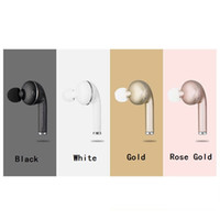 micrófono para coche al por mayor-VOVG V1 Mini Auricular Bluetooth CSR4.1 Manos Libres de Música Inalámbrica Conductor de Coche Auriculares Stealth Auriculares Con Micrófono Para Iphone DHL Gratis