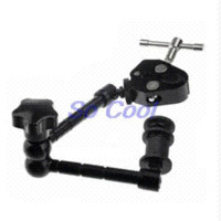 """Wholesale Light Stand Magic Clamp - Photo Studio Props 11"""" Adjustable Friction Articulating Magic Arm + Super Clamp Mount Kit for Camera LCD Monitor LED Light LF18"""